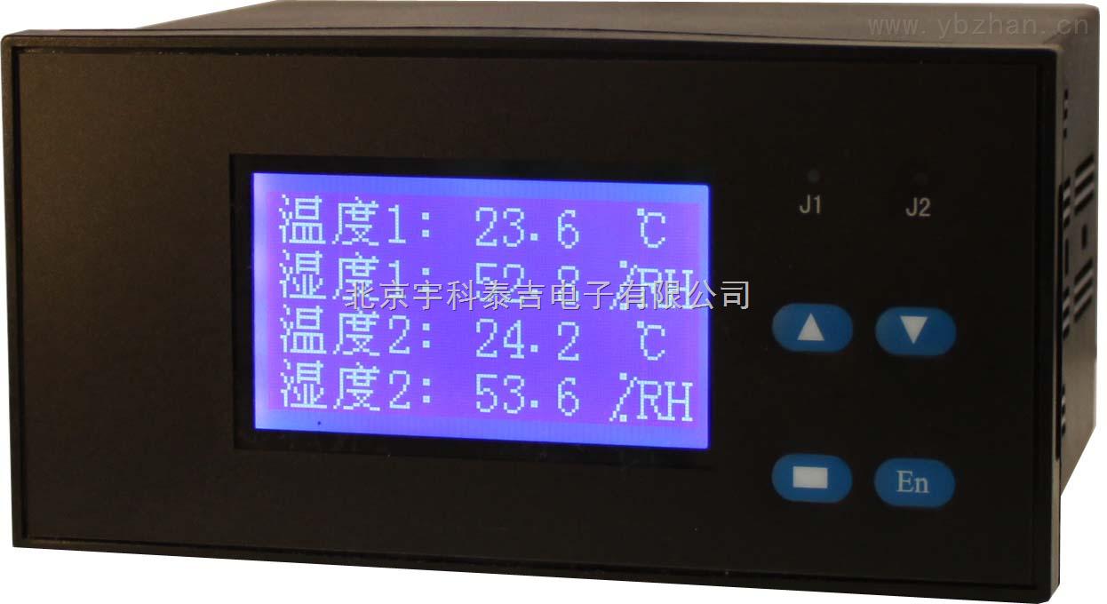 液晶多路PT100顯示儀