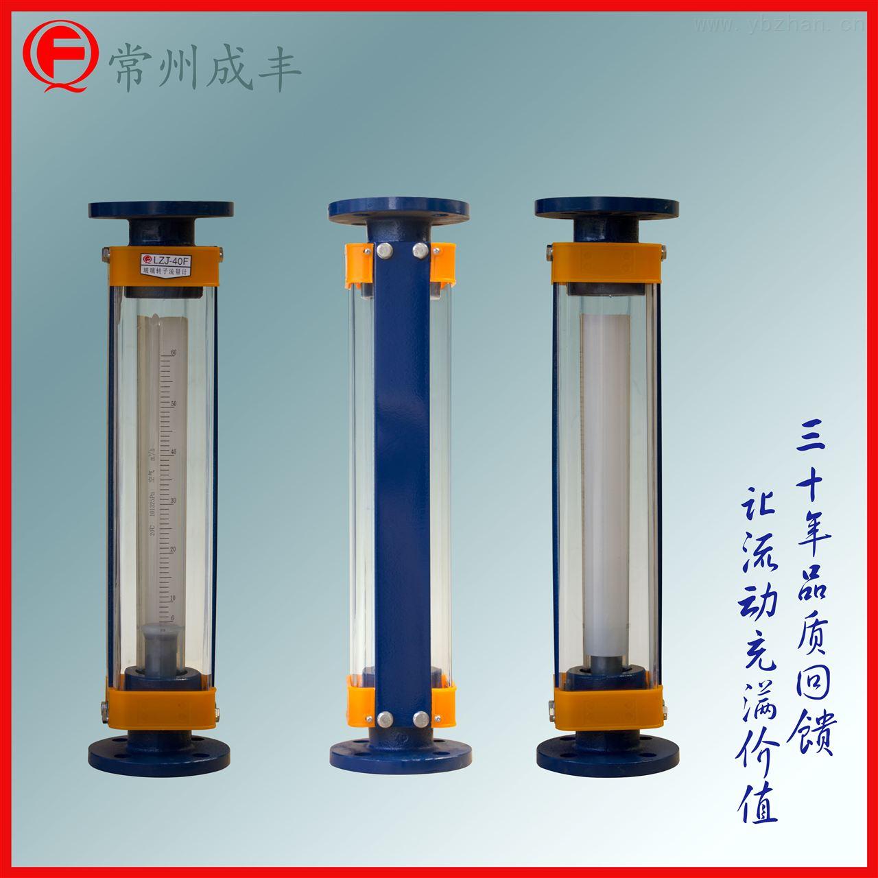 LZJ-40F-國內Z好的流量計廠家【常州成豐】轉子流量計特殊定制