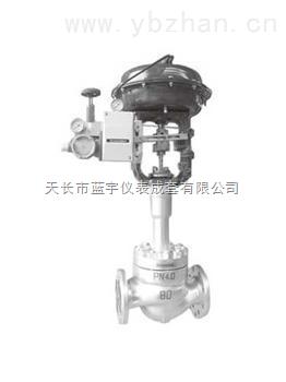 47—21000W 48—21000W系列 气动单座波纹管密封调节阀