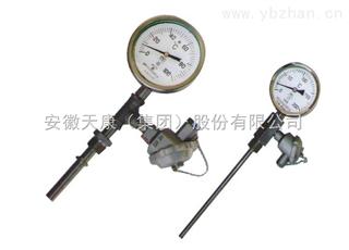 WSSXP-411带热电偶/热电阻双金属温度计