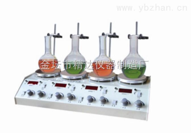 HJ-4-多头磁力加热搅拌器