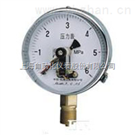 YXC-102B-F耐蚀磁助电接点压力表上海自动化仪表四厂