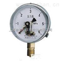 YXC-100B-FZ耐蚀抗振磁助电接点压力表上海自动化仪表四厂