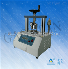 GT-PL-100AP满足ISO-2759,JIS-P8112标准纸板耐破强度试验机