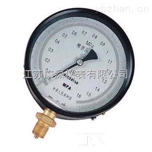 YB-150、YB-150A、YB-150B精密压力表