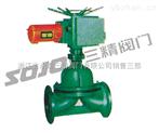 隔膜閥圖片系列:G941J電動隔膜閥系列電動襯膠隔膜閥