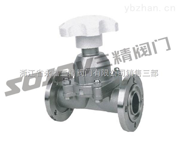 GM-GM系列高真空隔膜阀