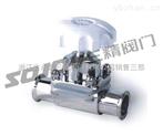 隔膜阀图片系列:G49J-10不锈钢卫生级隔膜阀