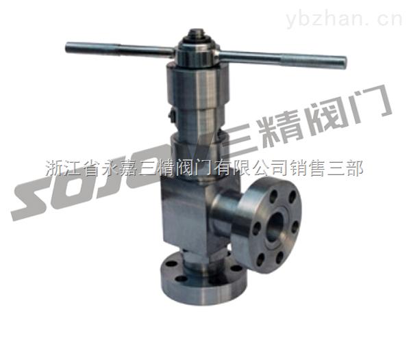 J44Y L44Y高压角式截止阀,高压角式节流阀