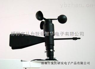 风速风向传感器的监测效果