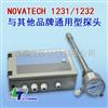 通用型氧化锆探头NOVATECH 1231/1232通用型氧化锆探头
