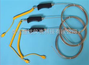 手柄式铝水用316L耐腐蚀保护管K型热电偶