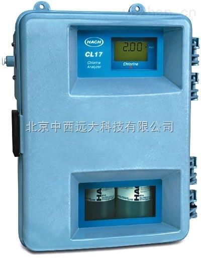 CL17余(总)氯分析仪/在线的浊度仪 型号:US61M/CL17