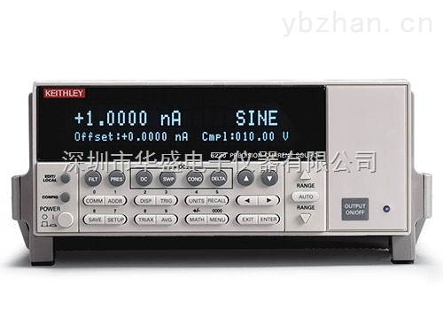 吉时利Keithley 6221 精密直流和交流 + 直流低噪声电流源