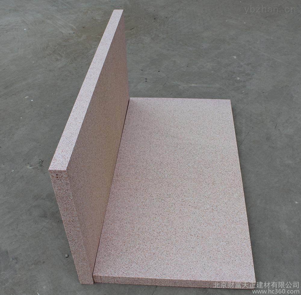 改性聚苯板真金板