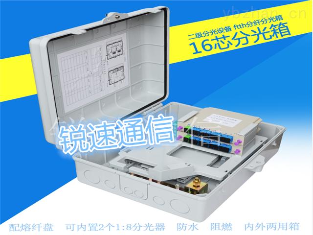 【1分8、1分16、1分32、1分64】光纤分纤箱