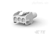 矩形电源连接器泰科料号350767-1导线电缆连接器
