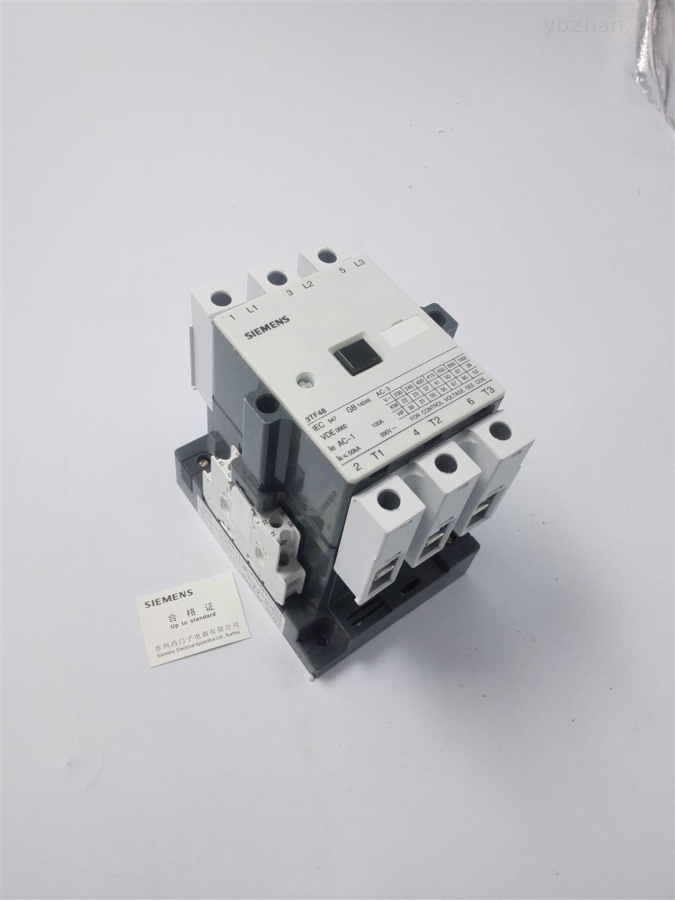 西门子交流接触器  信息内容:3tf48西门子交流接触器
