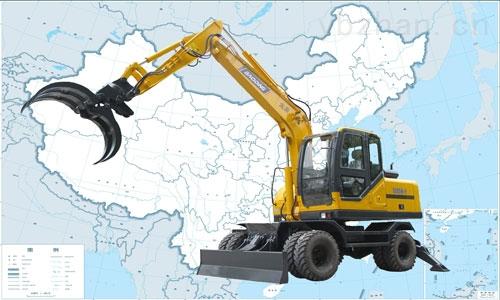 bd95w-9-抓铲挖掘机-德州宝鼎液压机械有限公司