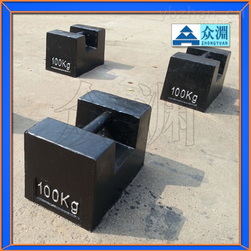 100公斤砝码|100千克标准砝码|100kg灰口铸铁砝码