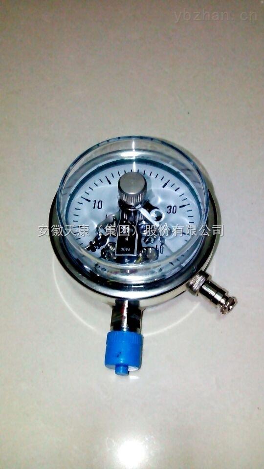 安徽天康YXC-150ZT磁助式电接点压力表