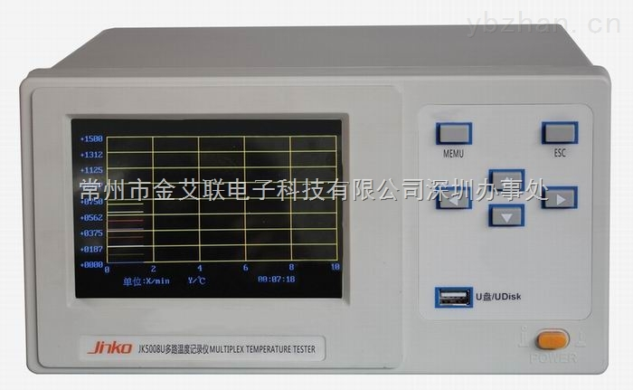 JK5000 wifi多路数据记录仪