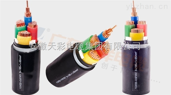 铜芯聚乙烯绝缘、聚氯乙烯护套金属屏蔽(铠装)电力电缆
