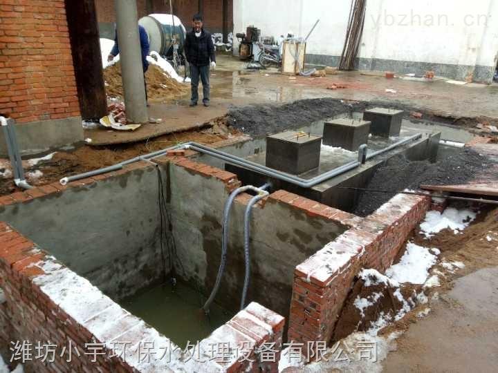 衡水地埋式污水处理装置设备