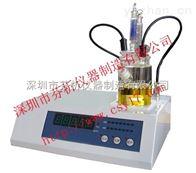 全自动重油水分测定仪