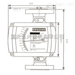 HX国产金属管浮子流量计