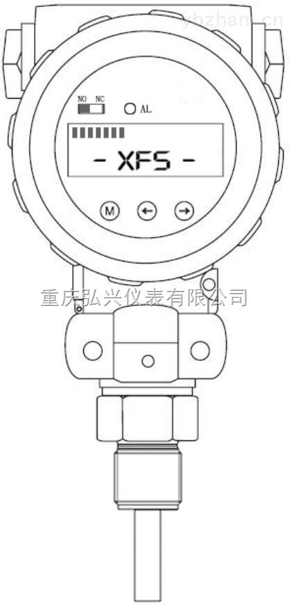 HX-HXS205 系列智能型熱導式流量開關HX