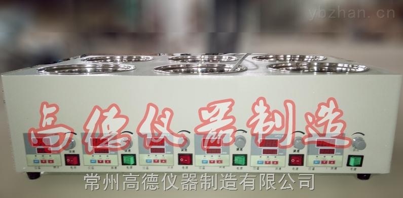 HH-YJ6D-恒温磁力搅拌油浴锅