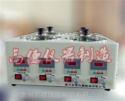 HCJ-4D恒温磁力搅拌水浴