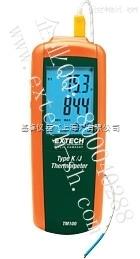 EXTECH TM100 热电偶测温仪,TM100 J/K型单通道输入测温仪