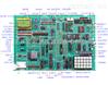 现代单片机 、微机、EDA综合实验开发系统 16/32位微机实验仪 微机原理试验箱