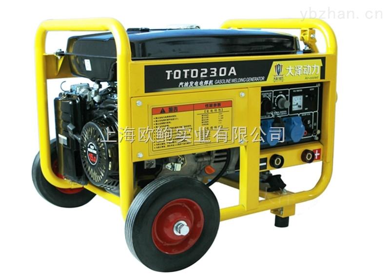 日本大泽250A汽油发电带电焊机报价