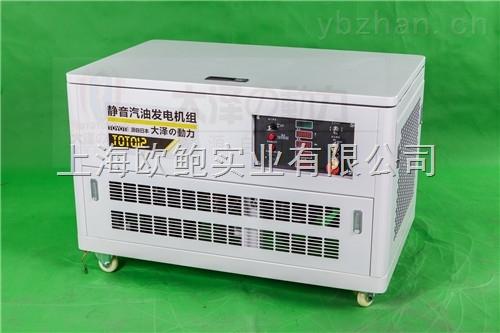 静音箱柜式12KW汽油发电机厂家