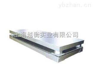 单层双层不锈钢电子地磅 花纹碳钢材质的地磅