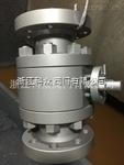 Q41Y-100-100压锻钢球阀厂家 耐磨锻钢阀门