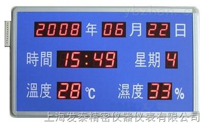 温湿度显示屏(蓝底白字)