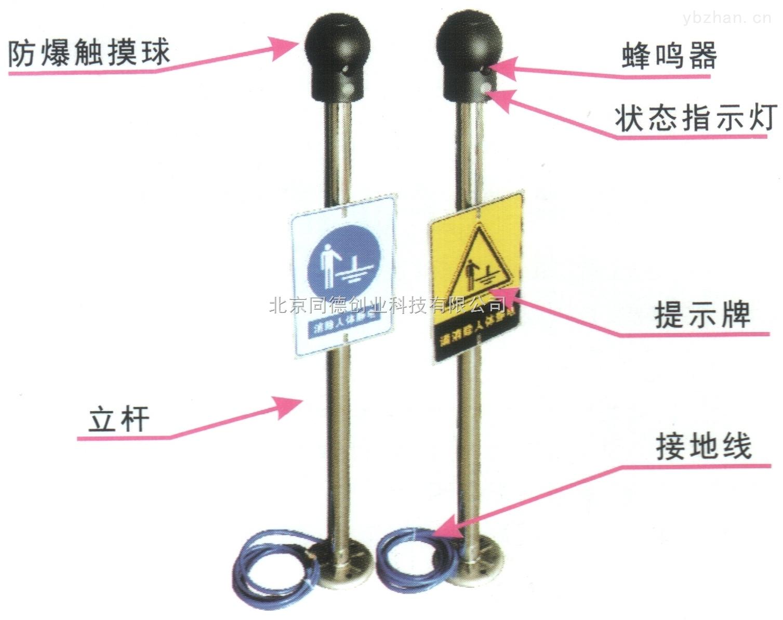 人体静电释放器 触摸式静电消除器
