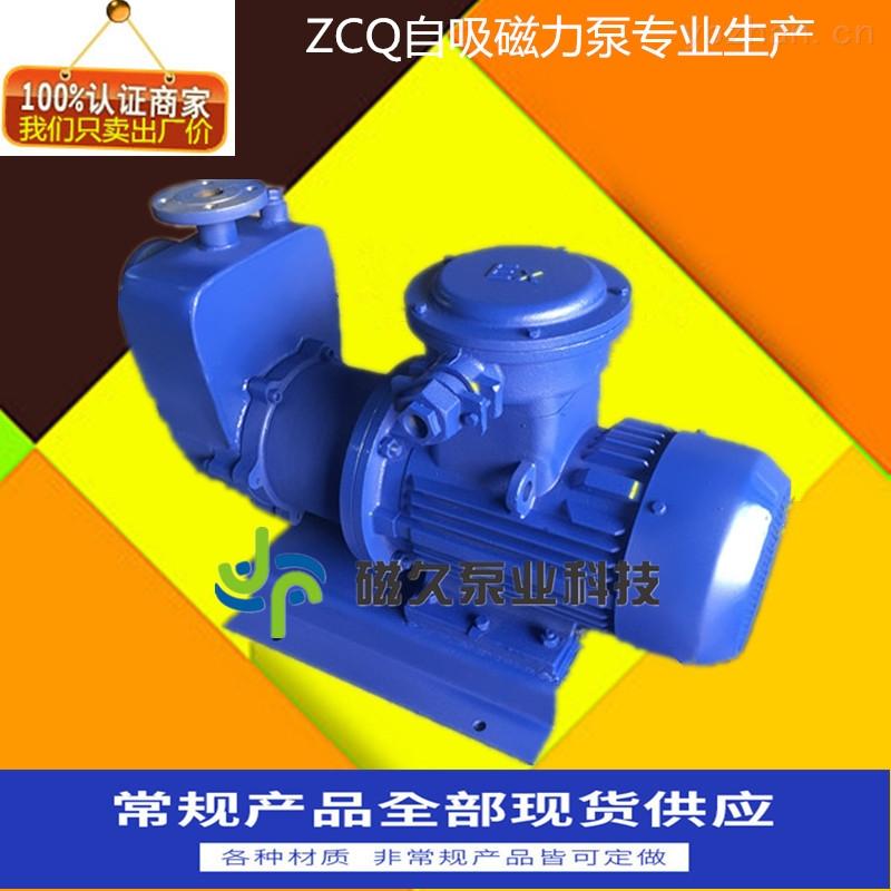 化工泵-ZCQ自吸式無泄漏磁力泵