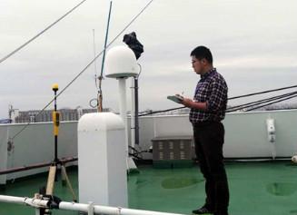上海计测院开展极地考察船环境电磁场检测工作