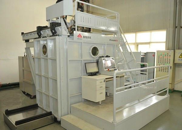 中国首台商用熔丝式电子束金属3D打印系统在陕西西安诞生