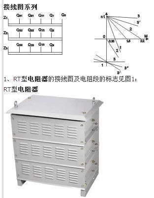 用于起重机配用yzr系列电动机作启动调整电阻之用