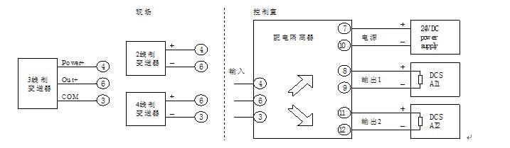 余姚xmt数字温度调节仪接线图