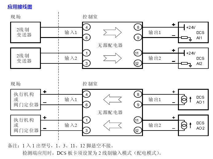 无源配电隔离器msc342e-金湖中科仪表有限公司