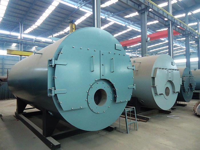 供应1吨全自动卧式燃气蒸汽锅炉