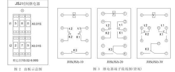 jsj-2-jsj-2静态交流断电延时继电器