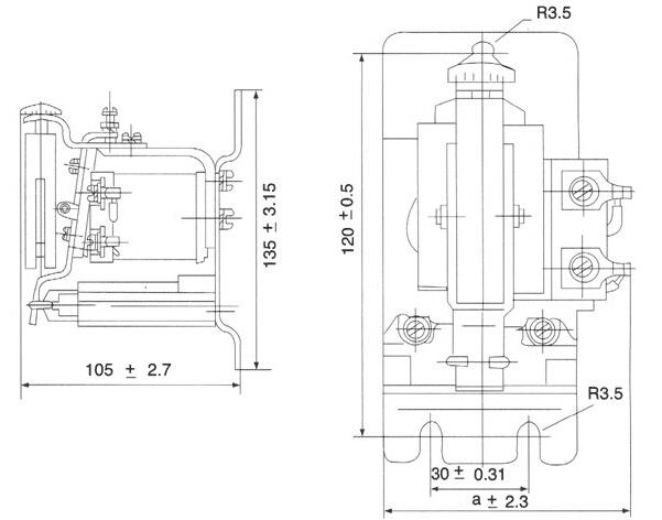 jl18系列电流继电器接线图